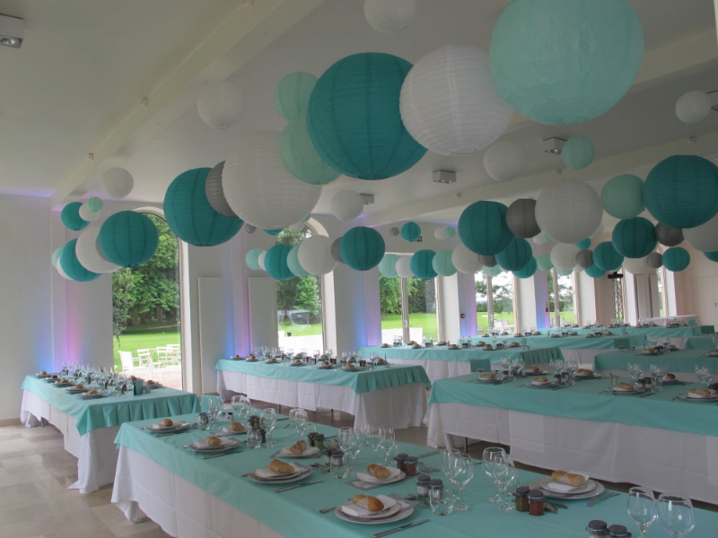 Multi Cultural Wedding In Turquoise And Grey