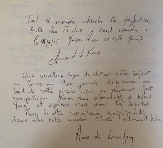 1507_Anne_Arnaud de Vienne_guestbook review_Chateau de Varennes_550