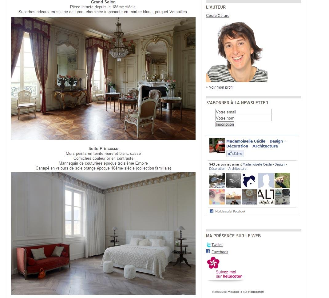 Article Cotemaison1_chateau de Varennes