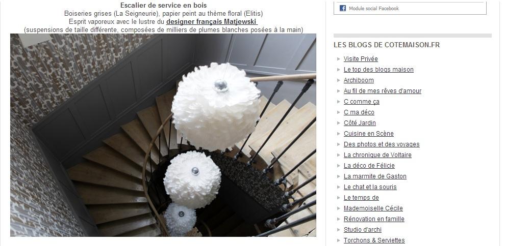 Article cotemaison location Chateau mariage Bourgogne