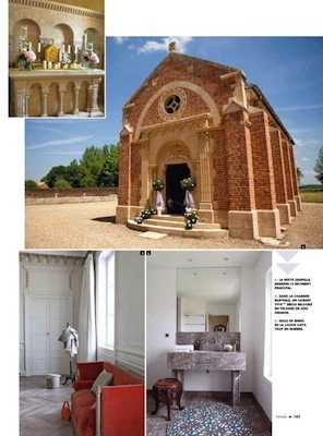 Femme mag Liban_mariage_wedding_Chateau de Varennes_4