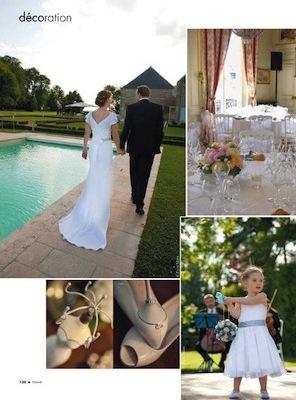 Femme mag Liban_mariage_wedding_Chateau de Varennes_7