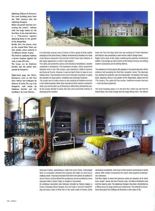 Objekt_press article_luxury French wedding venue_Chateau de Varennes_5
