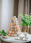 sylvie gil_Chateau de Varennes_macaron tower_by Muriel_cakes in the city_100