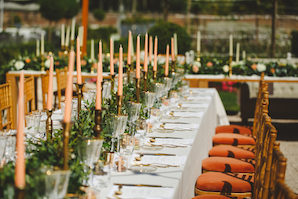 1608_Jules_by hannah_052_outdoor dinner reception_gold holders_peach candles_chiavari chairs_298