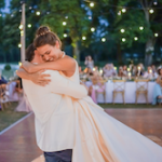 outdoor dancing floor_chateau de Varennes_luxury wedding_by lightonlove_party